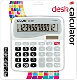 Club extra large calcolatrice da tavolo a energia solare 12cifre display cb-557