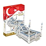 3D Puzzle Sultan Ahmet Moschee Blaue Moschee Istanbul Blue Mosque Cubic Fun