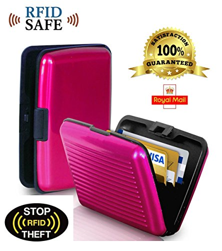 Aluminium Security Credit Card Holder Protects Your Identity Pink Buy Online In Andorra At Andorra Desertcart Com Productid 57949182
