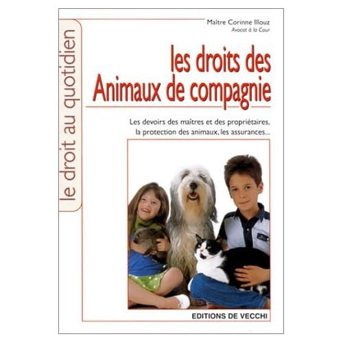 Le droit des animaux de compagnie