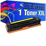 PlatinumSerie® Toner XXL Yellow kompatibel für HP 131A CF212A Laserjet Pro 200 Color M251N M251NW M276N M276NW