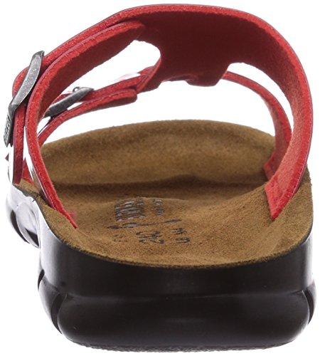 Birkenstock Professional Sofia, Mules Femme Rouge (Tango Red Patent)