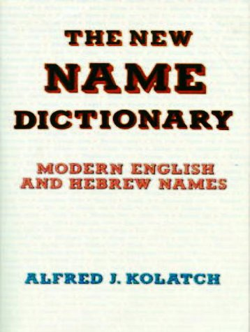 The New Name Dictionary