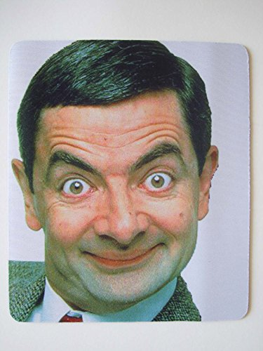 Rowan Atkinson Mr Bean Film Mousepad Mauspad Komfort Pad für PC 210 mm x 170 mm