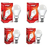 Eveready Base B22 12W Pack Of 2 With 9W Pack Of 2 LED Bulb Combo