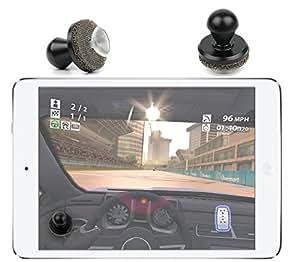 DURAGADGET Manette / joystick portatif pour tablette iPad 1, iPad 2 et iPad 3, iPad mini (le nouvel iPad, the new iPad) et iPad air