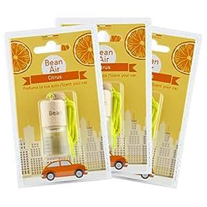 profumatore deodorante per auto e ambienti Bean Air Agrumi 3pz