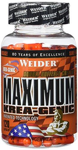 Weider, Maximum Krea-Genic, 1er Pack (1x 120 Kapseln)