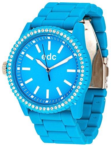Edc by Esprit Stone Starlet Orologio da Polso, Donna, Plastica, Blu