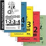 Dux Das Ding Band mit Noten 1 bis 4 | Kultliederbücher inkl. Inhaltsverzeichnis
