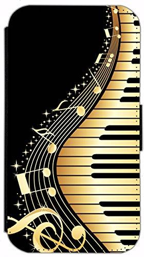 Flip Cover für Apple iPhone 4 / 4s Design 394 Eifelturm Paris Frankreich bei Nacht Blau Gelb Hülle aus Kunst-Leder Handytasche Etui Schutzhülle Case Wallet Buchflip (394) 366