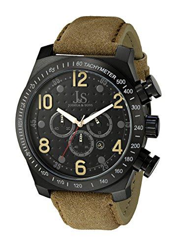 Joshua & Sons Reloj con Movimiento Cuarzo japonés Man JS-14-TN 53 mm