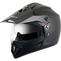 Off Road D/V Black Helmet-L