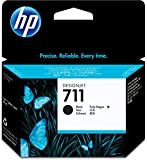 HP CZ133A 711 80ml Ink Cartridge for Designjet T120/T520 Large Format Inkjet Printers - Black
