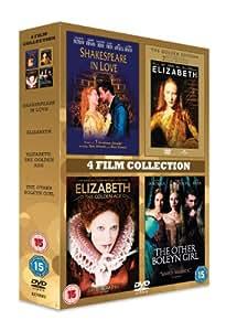 4 Film Collection: Shakespeare In Love / Elizabeth / Elizabeth: The Golden Age / The Other Bolelyn Girl [DVD]