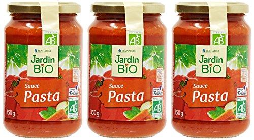 Jardin Bio Sauce Pasta 350 g - Lot de 3