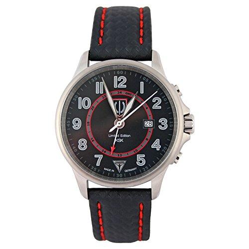 Junkers Reloj de pulsera Limited Edition KSK Diodo Fuerzas de comando con Sond erzif ferblatt 3548–4/KSK