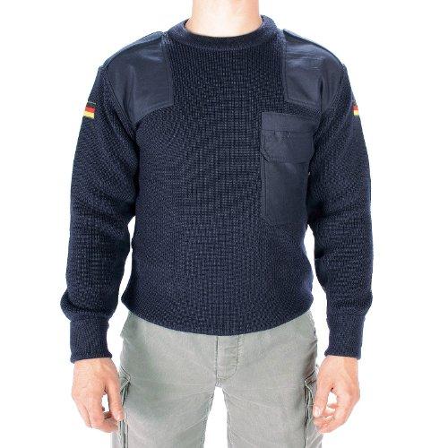 BW Pullover nach TL S blau 52