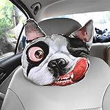 Taillenkissen / Kopfstütze HuanLeBao 3D Hund / Katze Auto Kopfstütze Nackenkissen Auto Sitzkissen...