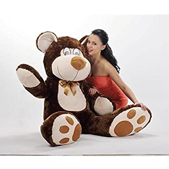 Big D.Brown Teddy Bear 100cm Large Great Present Kids Gift Suprise SM-III