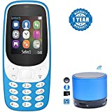 #10: Captcha VIVO Devices Compatible Certified A3310 Dual Sim Mobile with S10 Wireless Portable Mini Speaker with Mic TF (1 Year Warranty)