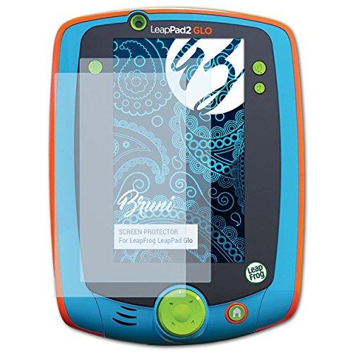 Bruni Schutzfolie für Leapfrog LeapPad Glo Folie, glasklare Displayschutzfolie (2X)