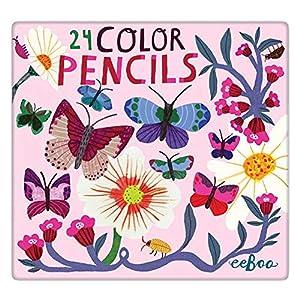 eeBoo-24 Colores, Mariposas y Flores (PNBUF)