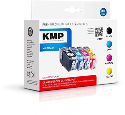 Preisvergleich Produktbild KMP Multipack für Canon Pixma iP3600/iP4600, C72V