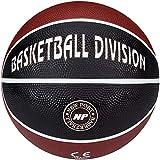 New Port Mini Basketball mit Aufdruck (3||rot schwarz)