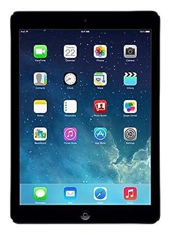 Apple iPad Air WiFi + Cellular 16GB Schwarz (Zertifiziert und Generalüberholt)