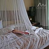 Gardigo Moskitonetz Kegelform | Für Doppelbetten geeignet, Mückennetz 250 x 125 x 65 cm | Schutz vor Mücken, Fliegen | Insektenschutz, Farbe: weiß