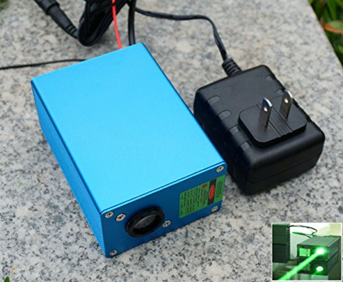 220V DPSS Fat Beam Green Diode Laser Dot Modul 532nm 200mw / TTL10-20K Hz / Langzeit arbeiten (Laser-diode 12 Mm)