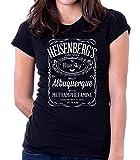 35mm - Camiseta Mujer - Heisenberg'S - Breaking Bad - Jack - Women's T-Shirt, Negra, M