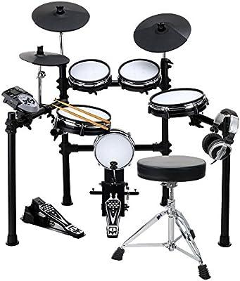 XDrum DD-530 Mesh Heads E-Drum set con taburet y auriculares