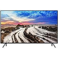 """Samsung UE55MU7055 - Televisor UHD-4K de 55"""" (HDR 1000, diseño de 360 °, velocidad de movimiento 200, un control remoto, detección automática) color negro y gris"""