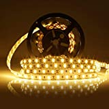 LEDMO led streifen warmweiß led strip 2700k 5m led band lichtband 7500LM led stripes SMD5630 300leds led leiste DC12V
