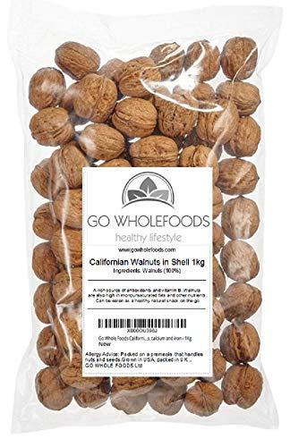 Walnüsse in Shell   Reiche Quelle von Protein, Vitaminen, Kalzium und Eisen (1Kg) -