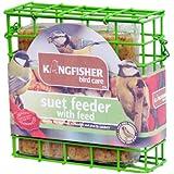 Bird Feeder Seed Nut Fat Ball Suet Cake Feeders Fatball Singles Kingfisher
