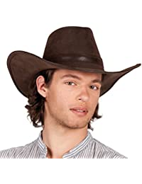 Wyoming cow-boy chapeau marron bistre