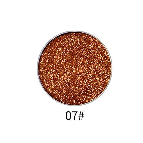 immer Glitter Lidschatten Pulver Palette Matte Lidschatten Kosmetik Make-up ()