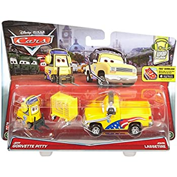 Combined Postage Gray Semi Deluxe DISNEY CARS DIECAST