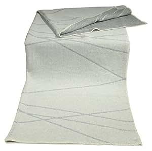 "David Fussenegger 50039740Lido Plaid en tissu gaufré ""Lignes Diagonal Env. 140x 200cm"