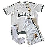 Real Madrid Set Ausrüstung wichtigste für Kinder Nachbildung Offizielle 2015–2016Ronaldo
