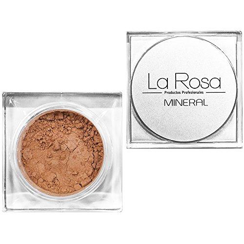 La Rosa - Mineral Grundierung Puder Nr. 53 MEDIUM BEIGE- 4,5g - Pfirsich-Farbton, für den hellen und mittelhellen Teint
