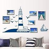 KAYI Famille Photo Cadre Arbre Pépinière Stickers Muraux Amovible Arbre Branche Feuilles Wall decal...