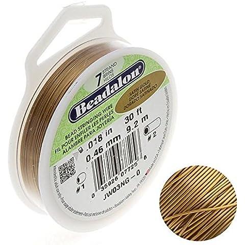 Beadalon 7filo perline 0.018