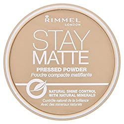 Rimmel Stay Matte Pressed Powder Natural Shine 004 Sandstorm - 0.49 oz./14 g