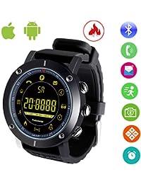 Smartwatch Impermeable IP68 Reloj inteligente Reloj DeportivoHombre Mujer Fitness tracker Pulsera Actividad para Android y IOS