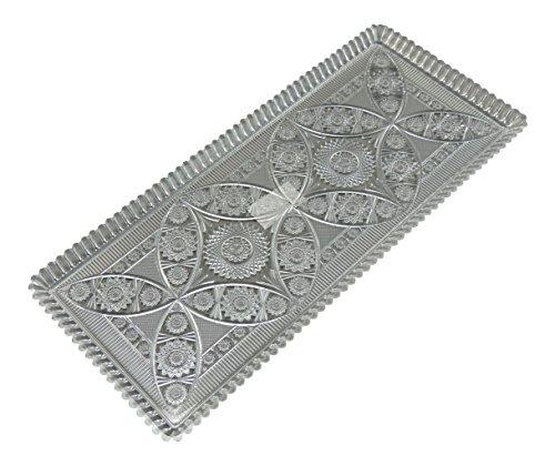Kuchenplatte 35x15cm Kunststoff, rechteckig