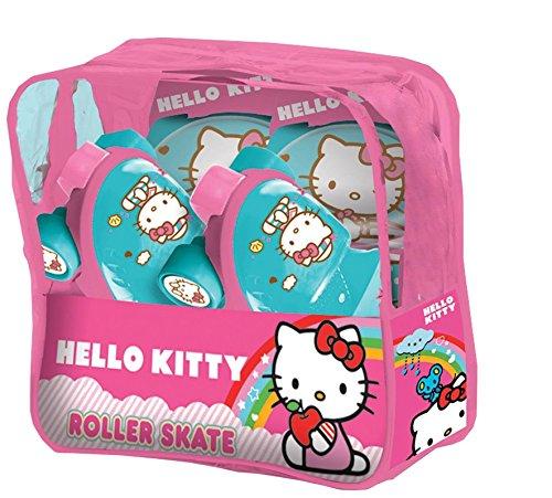 mondo-28106-hello-kitty-pattini-baby-con-protezioni-in-borsa